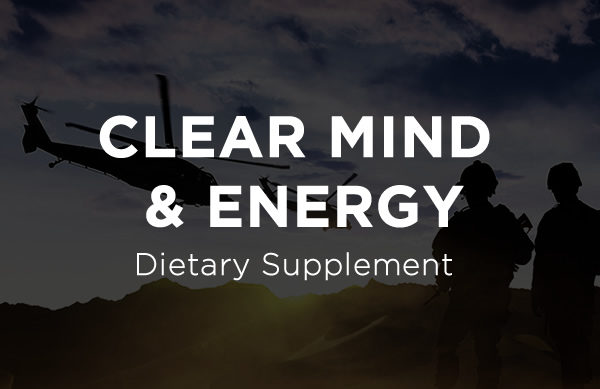 Clear Mind & Energy Dietary Supplement