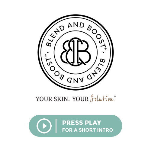 skin care blend and boost